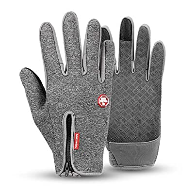 Gtopart 2018 Waterproof Touchscreen in Winter Outdoor Bike Gloves Ski Gloves Mountain Gloves
