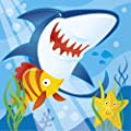 Ocean Shark Party Napkins, 16ct