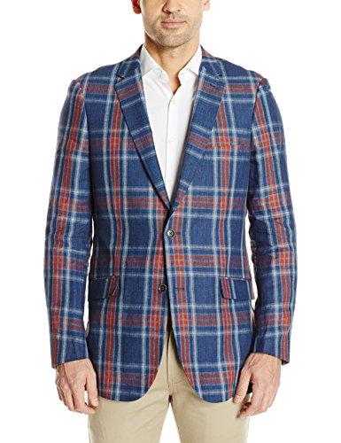 Linen Sport Coat Blazer Jacket - 7