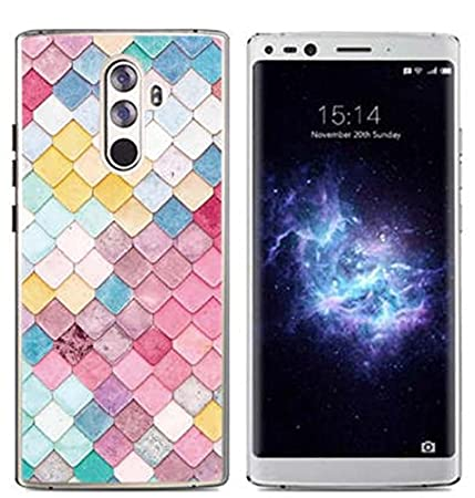 Prevoa Funda para DOOGEE Mix 2 - Colorful Silicona TPU Funda Case para DOOGEE Mix 2 Smartphone - 2