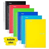 Five Star Spiral Notebook, 5 Subject, College Ruled Paper, 180 Sheets, Small, 9-1/2