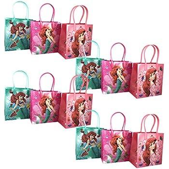 5684c9bed83 12pc Disney Little Mermaid Ariel Goodie Party Favor Gift Birthday Loot Bags