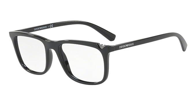771de4e113b7 Image Unavailable. Image not available for. Color  Eyeglasses Emporio Armani  EA 3110 F 5017 BLACK