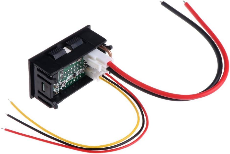 CHBC 0.28 inch Digital DC 4 Bit DC 100V 10A Voltmeter Ammeter Voltage Current Meter