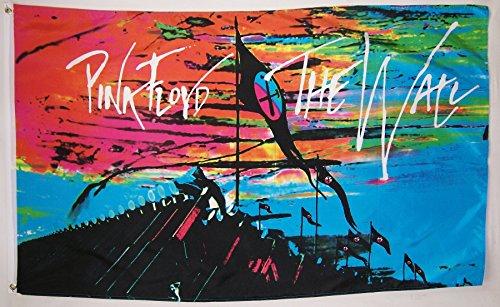 Pink Floyd The Wall 3' X 5' Indoor Outdoor Concert Banner (Pink Floyd Flag)