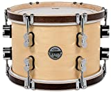 PDP Concept Maple Classic Mounted Tom -Natural with Tobacco Hoops