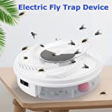 Trendia Hot sale Electric Fly Trap Device,USB Cable, Great for Summer Indoor Outdoor Home Use (White)