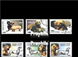 Cambodia 2109-2114 (complete.issue.) 2000 Breeds: miniature dachshund (Stamps for collectors)
