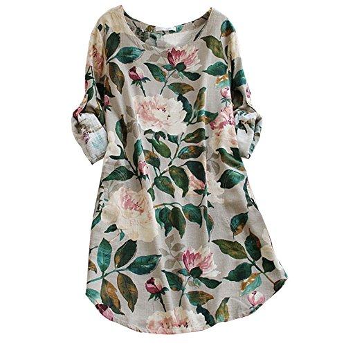 ashir-aley-vintage-floral-loosen-pockets-cotton-long-sleeve-casual-shirt-dresss
