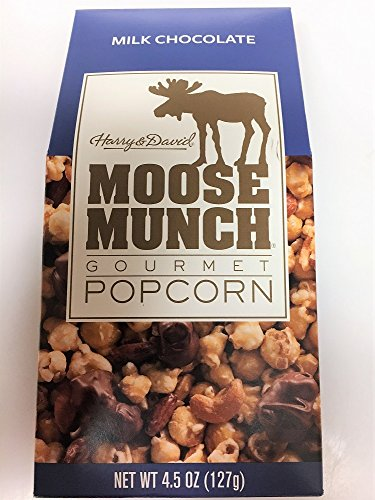 Harry & David Moose Munch Milk Chocolate Gourmet Popcorn 4.5 Oz.