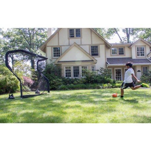Soccer Practice Training Net Goal and Rebounder by The Net Return