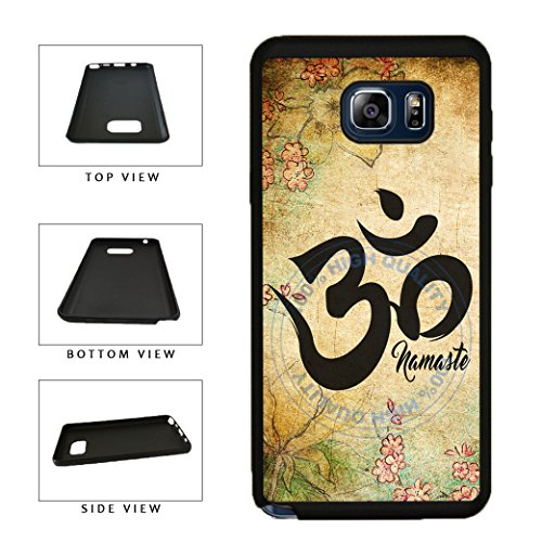 BleuReign(TM) Detailed Floral Print Namaste TPU RUBBER SILICONE Phone Case Back Cover For Samsung Galaxy S8 Plus