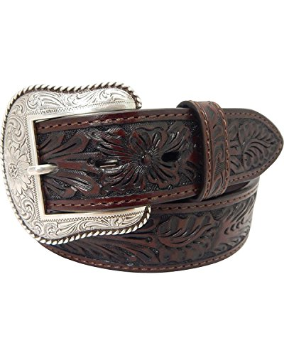 (Roper Men's Western with Stitching, brown, 34)