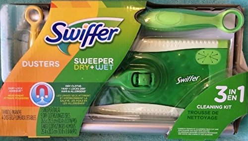 Barredora Swiffer Dusters & Dry + mojado 3 en 1 Swiffer Starter Kit