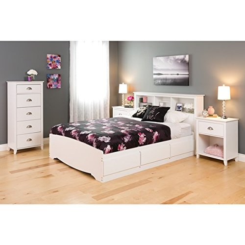 5 Drawer Dresser in White