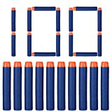 100 nerf gun bullets - Acekid 100pcs Foam Bullet Darts for Nerf N-strike Elite Series Darts Kid Toy Gun Refill Pack Blue (100pcs)