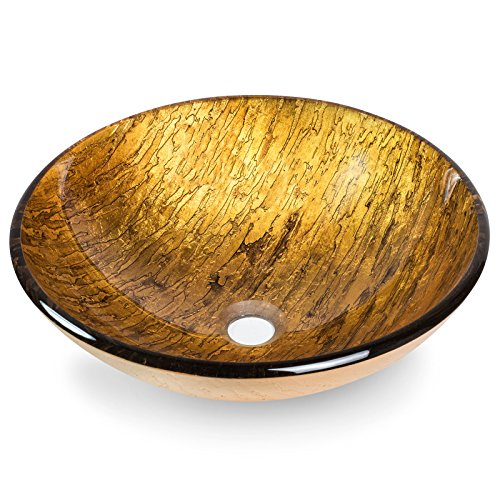 Miligore-Modern-Glass-Vessel-Sink-Above-Counter-Bathroom-Vanity-Basin-Bowl-Round-Gold