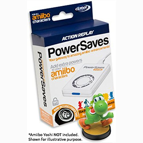 (Datel Action Replay PowerSaves Includes POWERTAGS for Amiibo Characters)