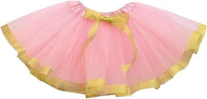 Xmiral Falda Tutu de Ballet para Niñas Bebes Skirt Corta Brillante ...