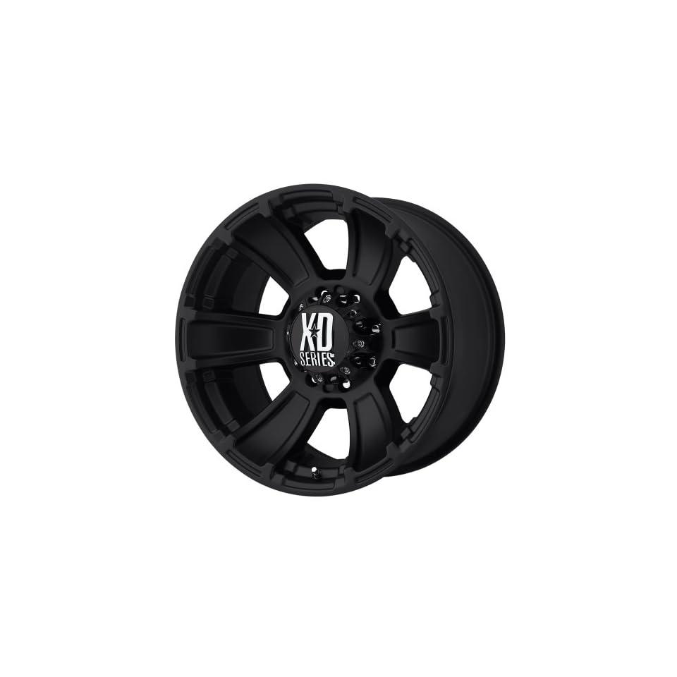 XD Series by KMC Wheels XD796 Revolver Matte Black Wheel (20x9/8x170mm, +18mm offset)