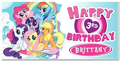 (Personalized My Little Pony Banner Party)
