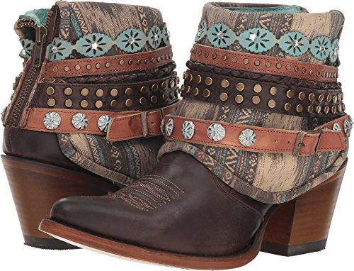 Corral Boots Women's E1387 Brown 11 B US
