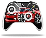 2010 Camaro RS Red - Decal Style Skin fits Microsoft XBOX One S and One X Wireless Controller
