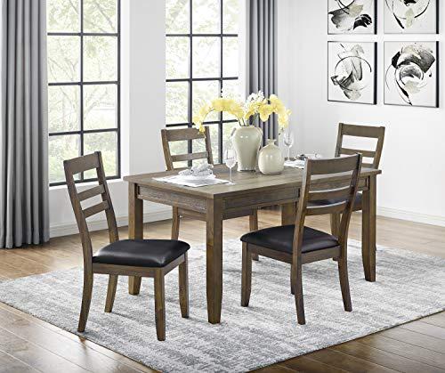 "Lexicon 60"" x 36"" Dining Table, Espresso"