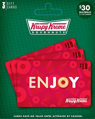 Krispy Kreme Gift Card, Multipack of 3 Multipack of 3 - $10