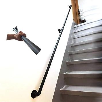 Barandilla de escalera Barandilla Barandilla -Complete Kit.Home contra la pared interior Loft ancianos Pasamanos Pasamanos Corredor de apoyo de Rod (Size : 60cm): Amazon.es: Bricolaje y herramientas