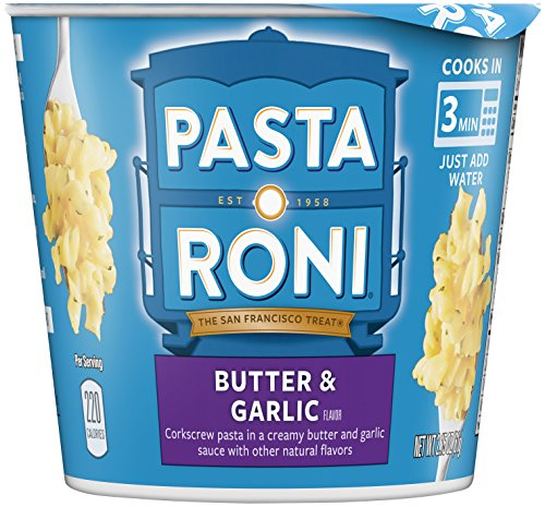 (Pasta Roni Cups, Butter Garlic Pasta Mix, 2.15 oz (Pack of 12)