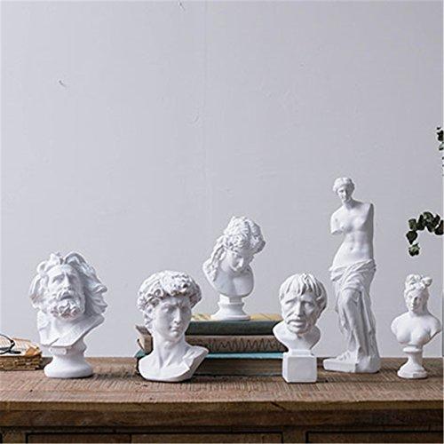LKXHarleya 12.2 Inch Classic Venus de Milo Replica Aphrodite Greek Goddess Bust Statue Sculpture Figurine for Decor