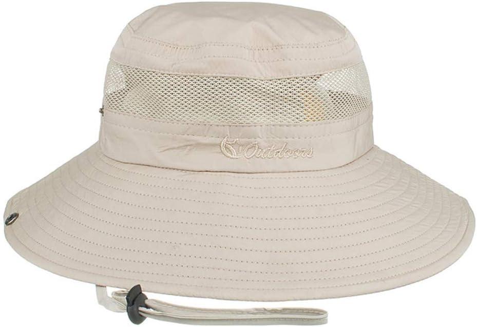 Laduup Sombrero de Sol, protección UV Exterior, Gorro de Verano, Sombrero de Senderismo, Sombrero de Pesca, Playa, Plegable, Gorro de Buceo, Sombrero de Camping para Mujer, Hombre y niños