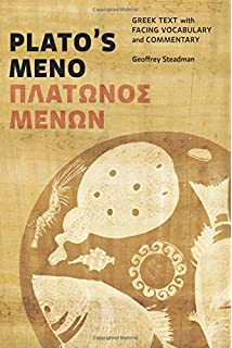 Amazon a commentary on platos meno 9780226439594 jacob platos meno greek text with facing vocabulary and commentary fandeluxe Choice Image