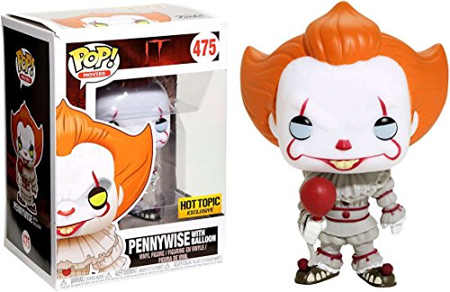 Funko POP! Movies Stephen King's IT Pennywise #475 (With (It The Killer Clown Costume)