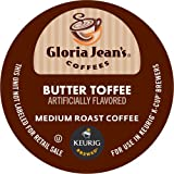 Gloria Jean's Butter Toffee K-Cup packs for Keurig Brewers (Pack of 50) image