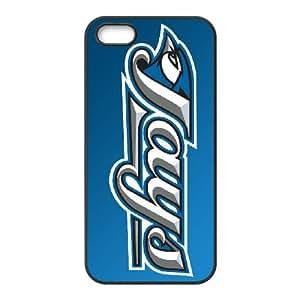 Sports toronto blue jays logo iPhone 5 5s Cell Phone Case Black DWRS6513591723691