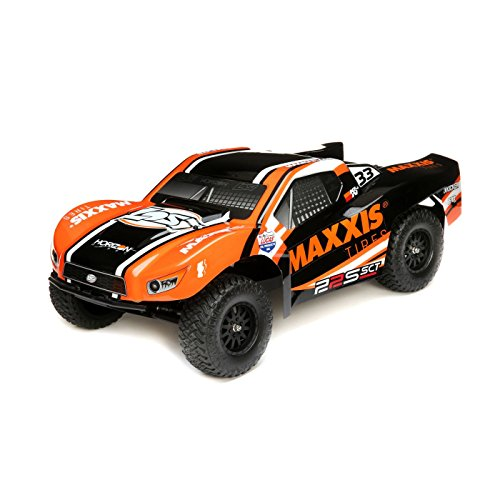 (Team Losi 1/10 22S Maxxis 2WD SCT Brushless RTR with)