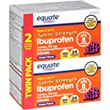 Equate - Junior Strength Ibuprofen 100 mg, Grape Flavor, 48 Chewable Tablets (Compare to Motrin)