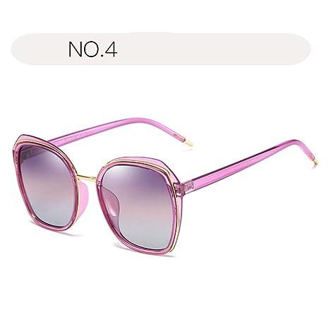 Zoueroih Dama Gafas de Sol Gafas de Sol Retro polarizadas ...