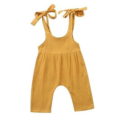 Julhold - Mono Suelto de algodón para bebé recién Nacido ...