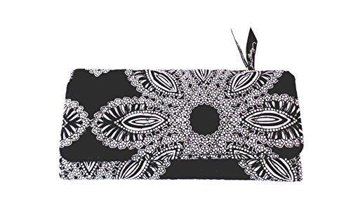 【超目玉】 ヴェラブラッドリー三つ折り財布 B01NBV5GY4 ブラック&ホワイト ブラック&ホワイト, chuya-online:07122b0c --- egreensolutions.ca