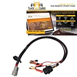 Main Bypass Breakout Programming Cable includes 9 pin connector and power source clamps with 12 month subscription to TruckFaultCodes