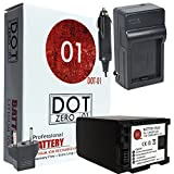 DOT-01 Brand Canon XA11 Battery and Charger for Canon XA11 Professional Camcorder and Canon XA11 Battery and Charger Bundle for Canon BP828 BP-828