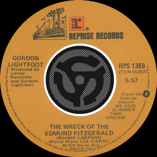 Wreck of the Edmund Fitzgerald by Gordon Lightfoot on ...
