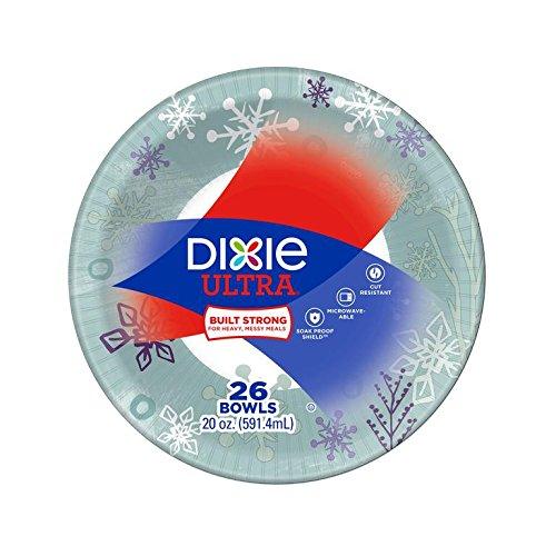 Dixie Holiday Design Bowl, 20 oz, 26 ct -