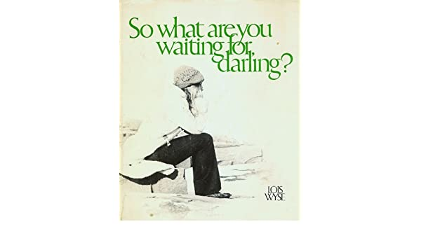 So What Are You Waiting For Darling Lois Wyse Amazon Books