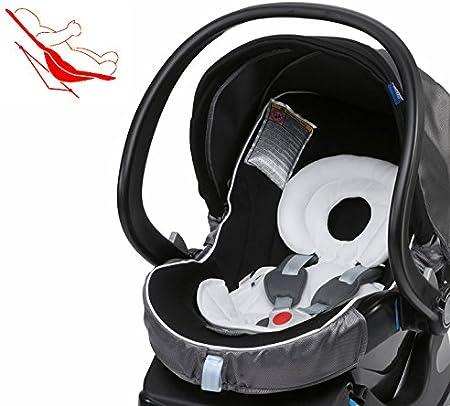 Chicco Ergos-System Universal reductor para recién nacido para niños 0-6 kg ( protecciones para la cabeza + Cojin cuña )