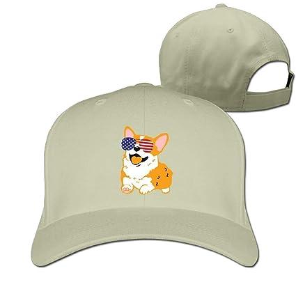Wfispiy Gorras de béisbol Gafas de Sol estadounidenses Papá ...
