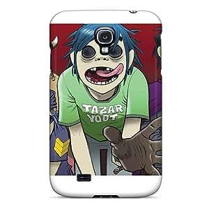 Excellent Hard Phone Case For Samsung Galaxy S4 With Custom HD Gorillaz Band Skin AshleySimms